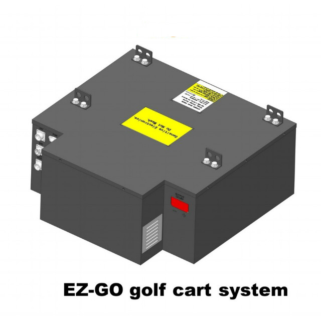 48V 80Ah LiFePO4 Battery Prismatic Cell Powerful Ready Drop In Golf Cart Trolley